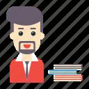 avatar, employee, man, staff, user