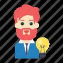 creative, employee, idea, innovation, user