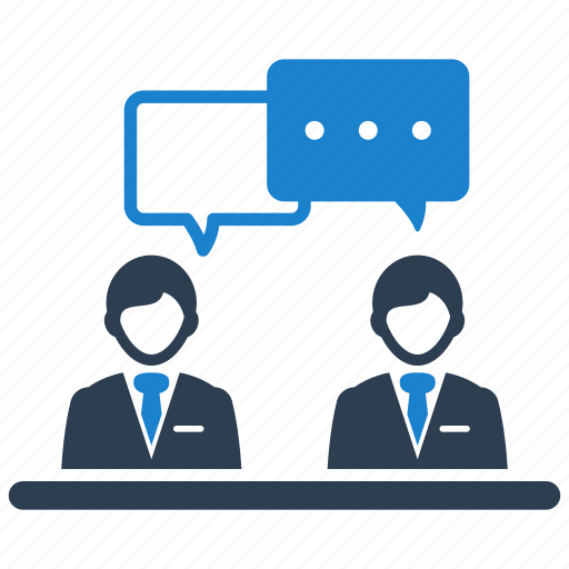 Business, conversation, communication, discussion icon - Download on Iconfinder
