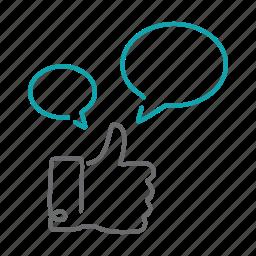 facebook, favorite, feedback, like, social icon