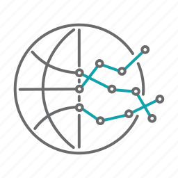analytics, data, diagram, global, graph, report, stats icon