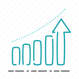chart, diagram, growth, marketing, report, statistics icon