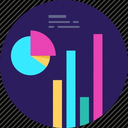 chart, graph, pie, report, seo, statistics icon