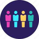 business, infographics, people, survey icon