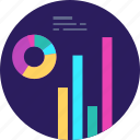 analytics, business, chart, finance, graph, marketing, statistics icon
