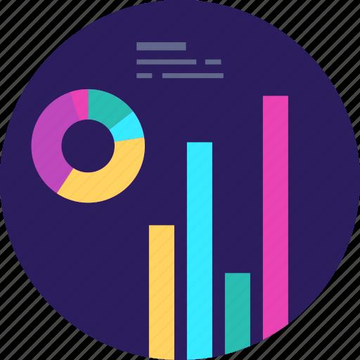 analytics, business, chart, finance, graph, marketing, statistics icon