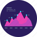 analytics, business, chart, data, graph, report, statistics icon