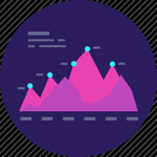 analytics, business, chart, data, graph, report, statistics icon