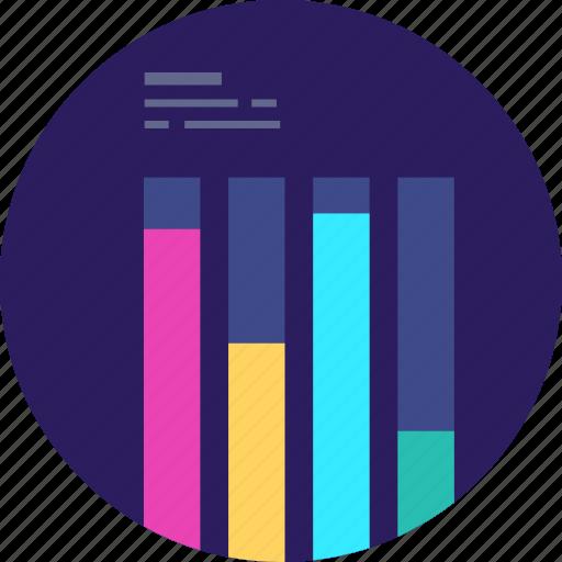 Chart, graph, statistics, growth, business, analytics, finance icon