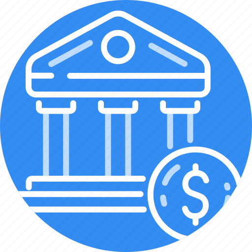 bank, banking, business, coin, dollar, money, pay icon