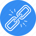 building, chain, link icon