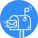 email, envelope, letter, mail, message, send, sending icon