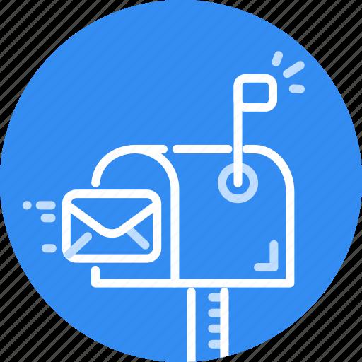 email, envelope, letter, mail, message, send, sending icon