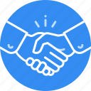agreement, business, deal, finace, handshake, partnership icon