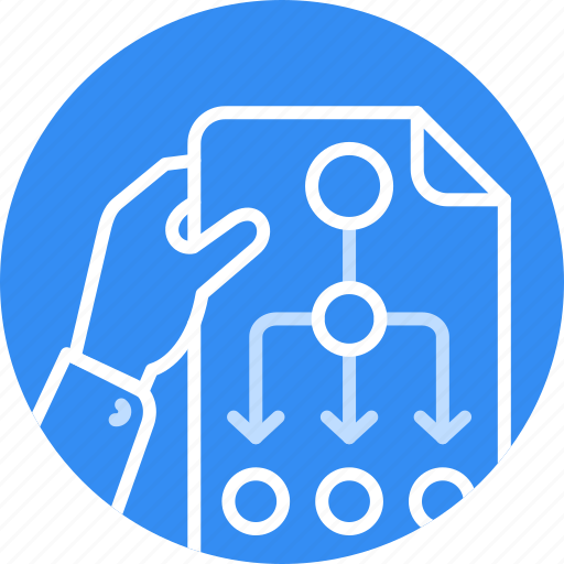 Business, flow, plan, planing, process, project, strategy icon - Download on Iconfinder