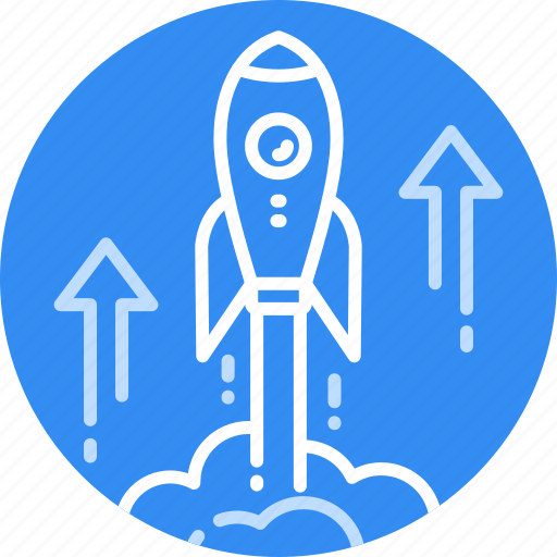 Brand, business, fast, rocket, science, space, start icon - Download on Iconfinder