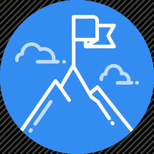 Achievement, focus, goal, mission, success, target icon - Download on Iconfinder