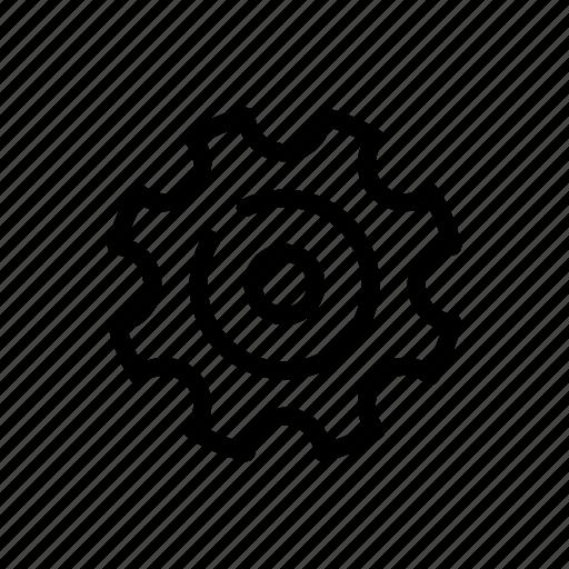 business, gear, process, settin icon