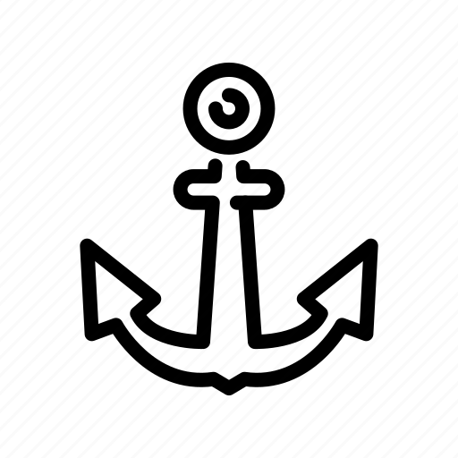 anchor, business, help icon