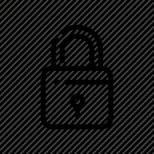 key, lock, protaction, safe, safety icon