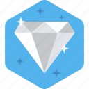 assurance, best, business, diamond, quality, web, work icon