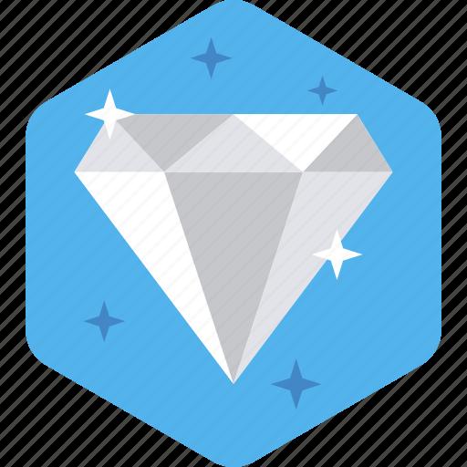 assurance, best, business, diamond, quality, web, work icon