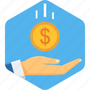 budget, budgeting, fund, funds, invest, save, savings icon