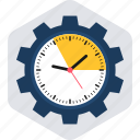 clock, procedure, process, schedule, time, timings, watch icon