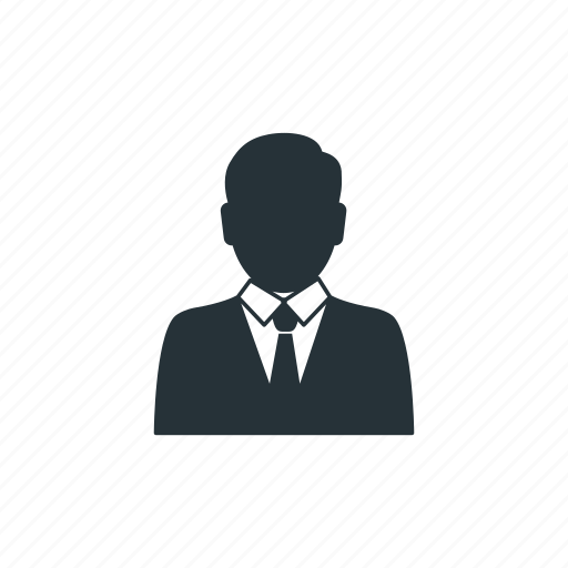 business, businessman, management, social, team, user, worker icon