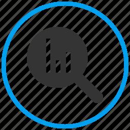 analysis, analytics, bar chart, evaluation, finance, report, statistics icon