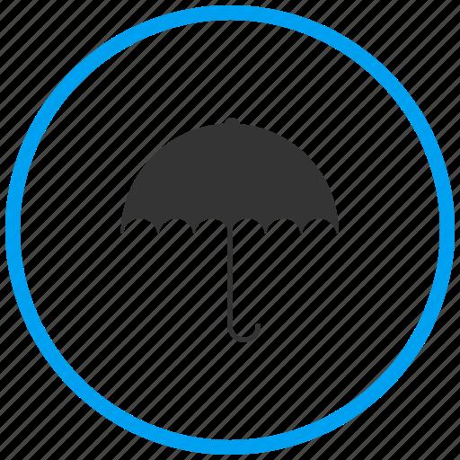 insurance, protection, rain, safe, umbrella, weather icon