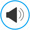 attention, audio, music, news, sound, speaker icon