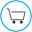 basket, buy, cart, checkout, ecommerce, retail, super market icon