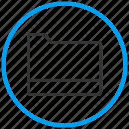 browse, directory, document, explorer, folder, open, system folder icon