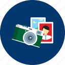 camera, design, education, modern, object, photography, technology icon