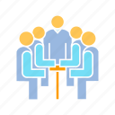 board, conference, corporation, executive, meeting, office icon