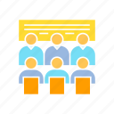 board, conference, corporation, executive, meeting, office, whiteboard icon