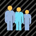 people, team, teamwork icon