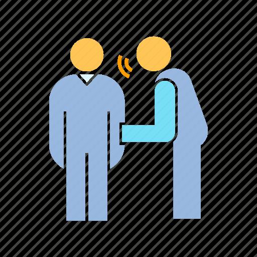 communicate, gossip, talk icon