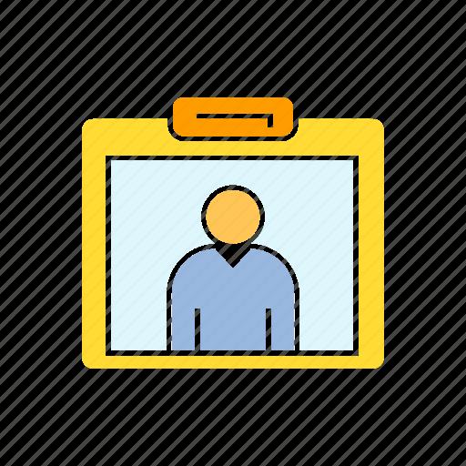business card, employee, id card, profile icon