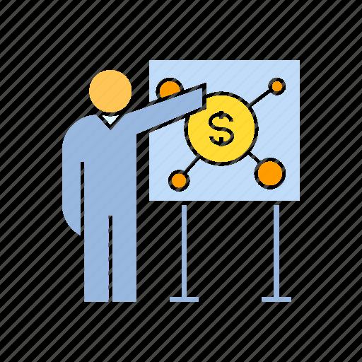 finance, money, present icon