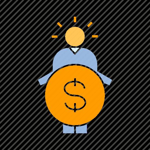 funding, investor, money icon