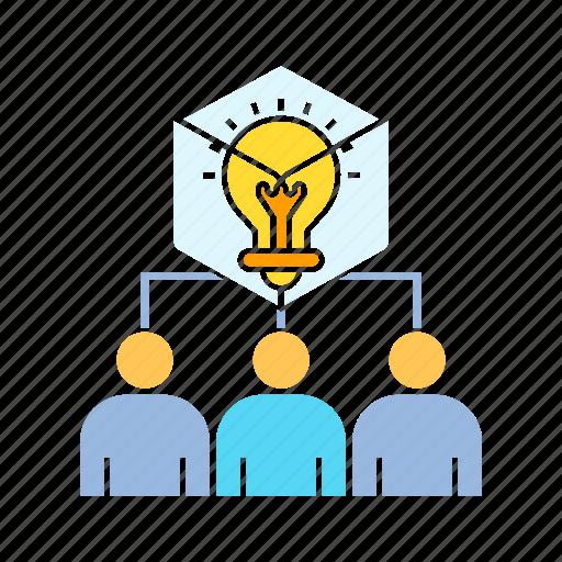 brainstorm, creativity, idea, imagination, innovation, problem, smart, solution, thinker icon