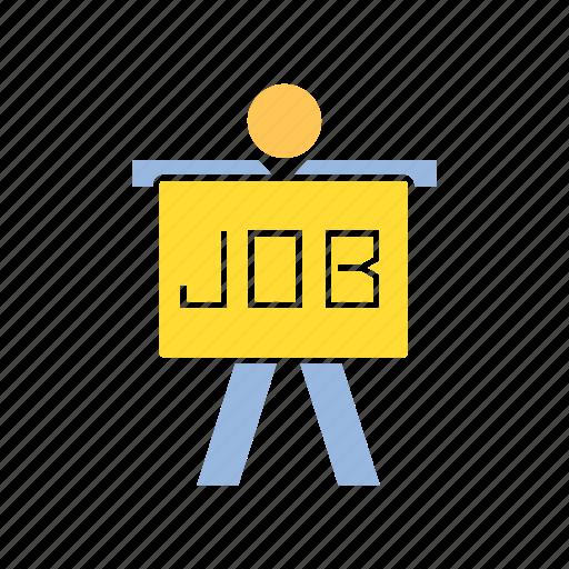 employee, job, person, recruiter icon