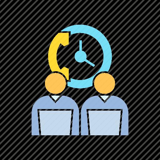 call center, call service, contact icon