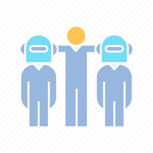 artificial intelligence, coworker, humanoid, robot icon