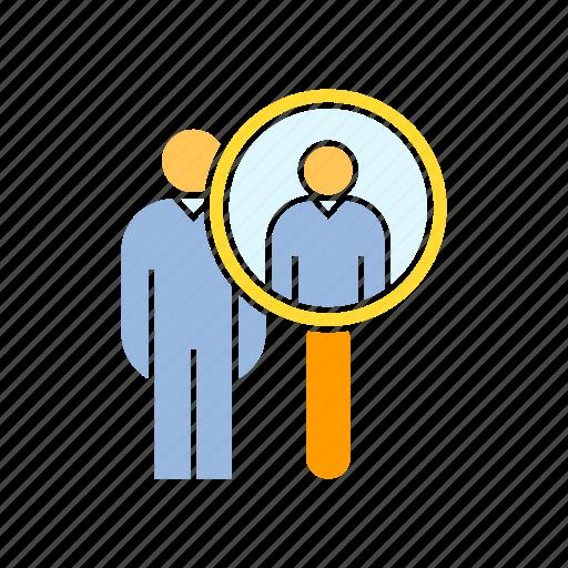 human resource, management, manpower, recruitment icon
