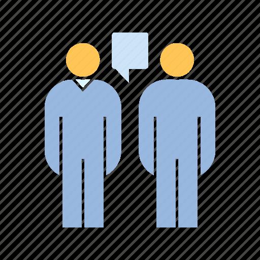 communicate, people, talking icon