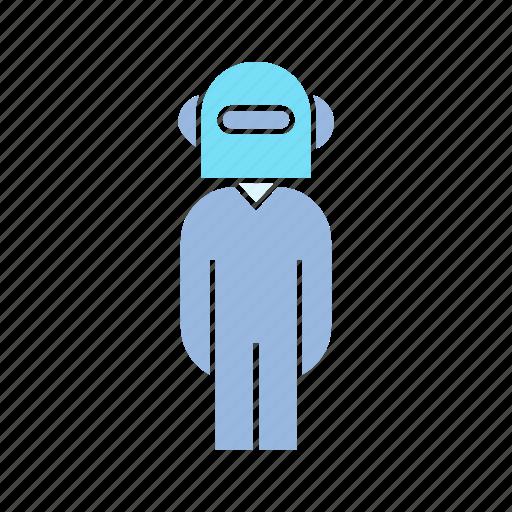 cyborg, humanoid, robot icon