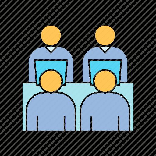 employee, office, worker icon